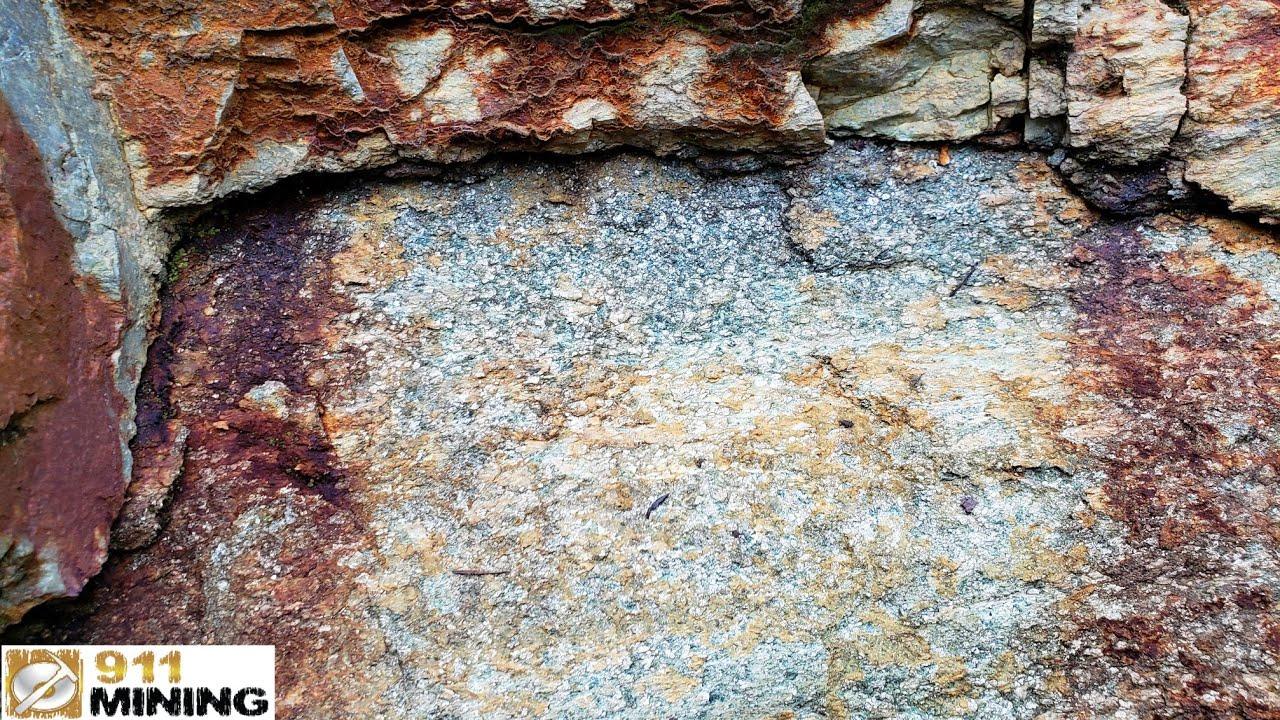 Gold, Platinum, Palladium, Silver & Indium In Mineralized Outcrops