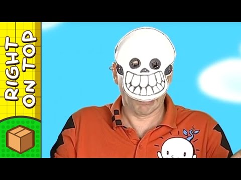 Halloween Crafts Ideas for Kids - Skull Mask | DIY on BoxYourSelf