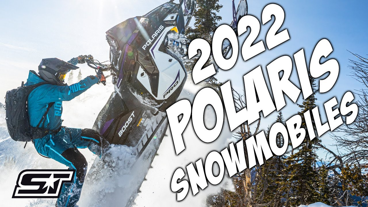 2022 Polaris Snowmobile Full Lineup Overview