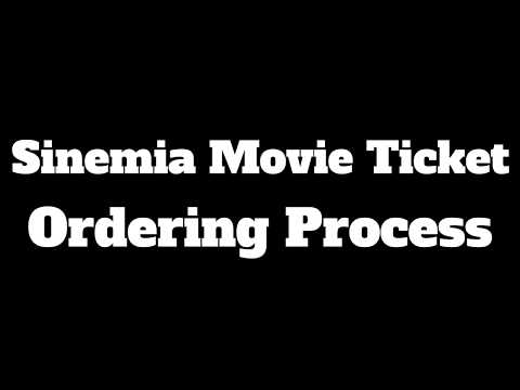 Sinemia Advanced Movie Ticket Purchase Process