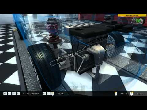 How to change a serpentine belt  in Ford Galaxy with Car Mechanic   Simulator 2014