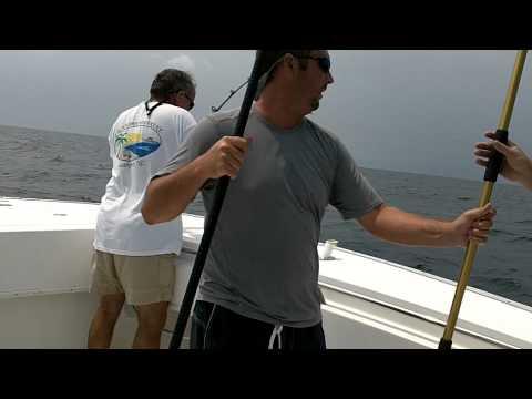 King Mackerel fishing Oak Island, NC (July 2011)