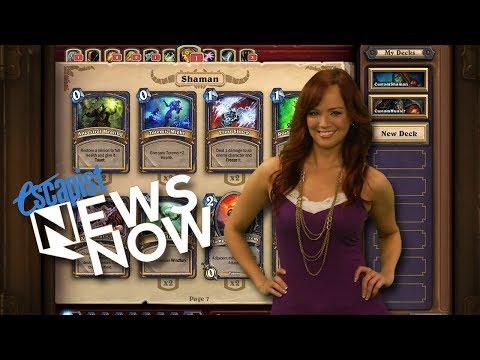 HEARTHSTONE OPEN BETA DELAYED (Escapist News Now)