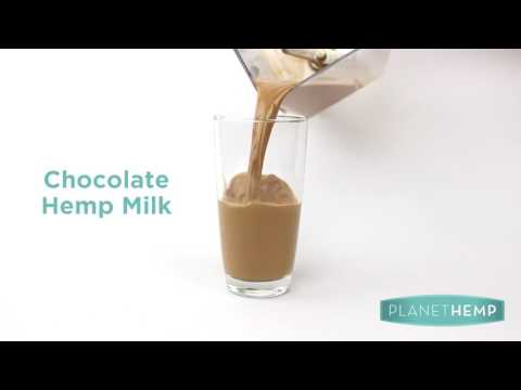Homemade Hemp Milk 4 Ways | Planet Hemp Recipe