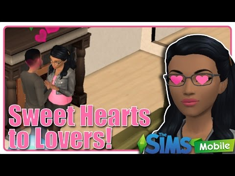The Sims Mobile Gameplay Walkthrough ep.3 Sweet Heart to Lover And Max Level Barista Career