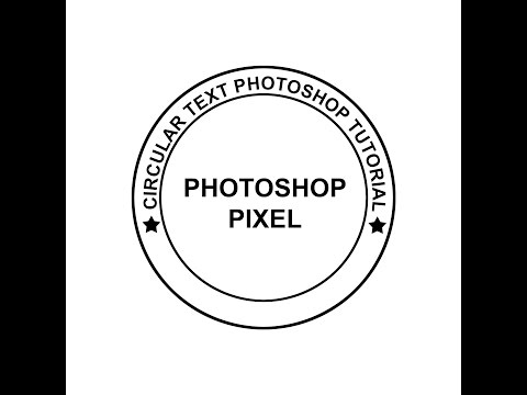 How to type in Circular text Photoshop cs6 & CC