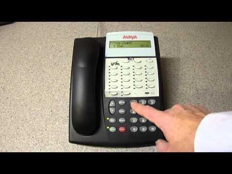 Avaya Partner - How to configure voice mail