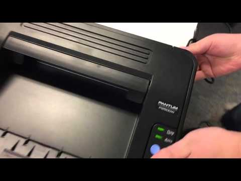 How to Air print file from iPhone and iPad from Pantum Printer (Update Firmware)