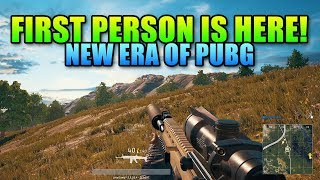 First Person PUBG Is Here And It