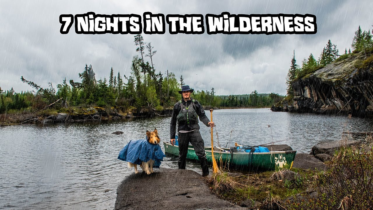 7 Night Wilderness Camping Adventure With My Dog [FULL TRIP]