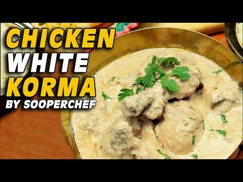 Chicken White Korma Recipe - White Chicken Gravy by SooperChef