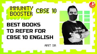 Best Books to Refer for CBSE 10 English 📚| Reference Book for Class 10 - 2022 Preparation | Amit Sir