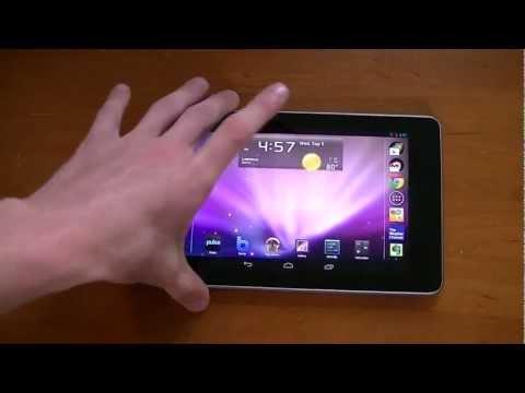 How to: Rotate Nexus 7 Homescreen