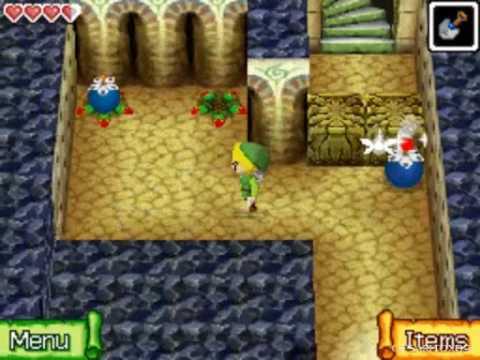 The Legend of Zelda Phantom Hourglass Walkthrough -Temple of Wind- Part 12