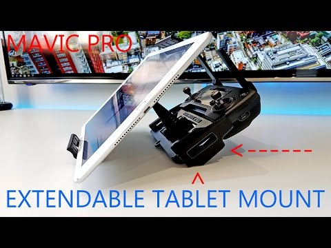 DJI MAVIC PRO DRONE TABLET MOUNT UNBOXING FROM AMAZON