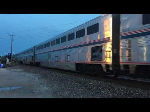 Amtrak #21 the southbound Texas Eagle arriving into St. Louis from Chicago off the Pana sub reroute