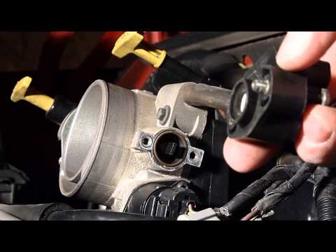 Replacing The Throttle Position Sensor, Dodge Durango 4.7L V8 Engine