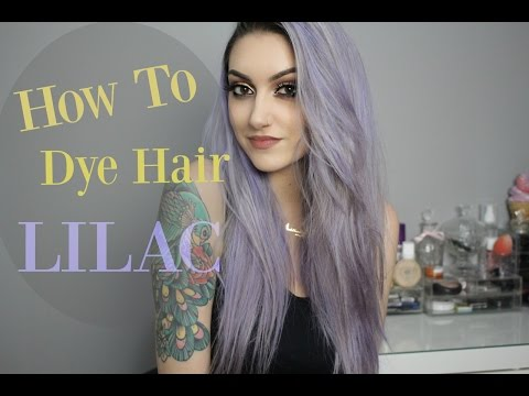 How I Dyed My Hair Pastel LILAC! | Without Platinum Blonde Hair