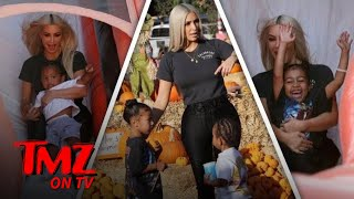 Saint And North West Hit The Pumpkin Patch! | TMZ TV
