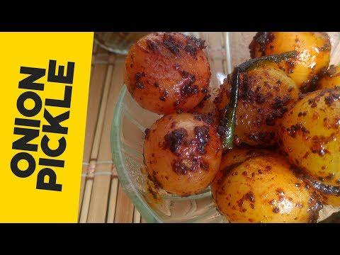 Onion Pickle Recipe | प्याज का आचार बनाने का आसान तरीका