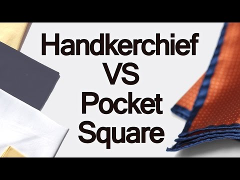 Handkerchief Vs Pocket Square | Difference Between Handkerchiefs & Men's Pocketsquares