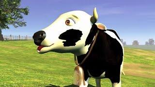 La vaca lechera (HD) - Canciones de la Granja de Zenón 1