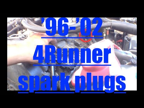 FAST Spark Plug Replacement Toyota 4Runner V6 5VZ-FE √ Fix it Angel