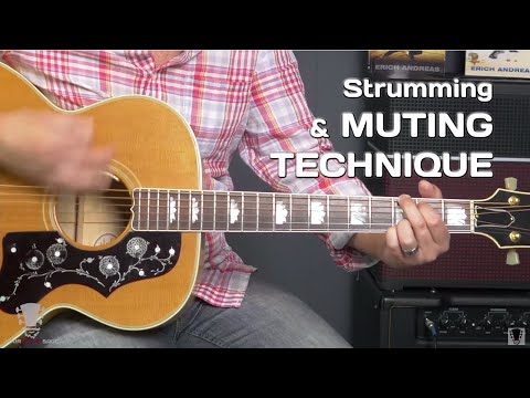 How to Strum Chords Cleanly PLUS Muting Technique