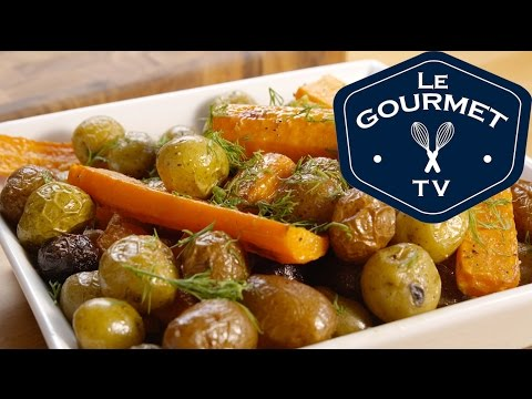 Roasted Carrots and Potatoes with Dill Recipe - LeGourmetTV