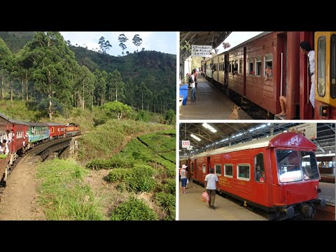 A train ride from Colombo to Sri Lanka's Tea Country...