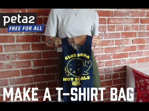 DIY T-Shirt Bag!