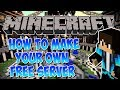 Minecraft Tutorial: How to Make Your Own Minecraft Server for Free!