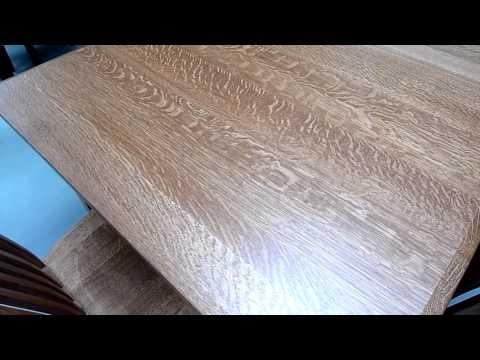 Amish Furniture Wood Type -  Quarter Sawn White Oak