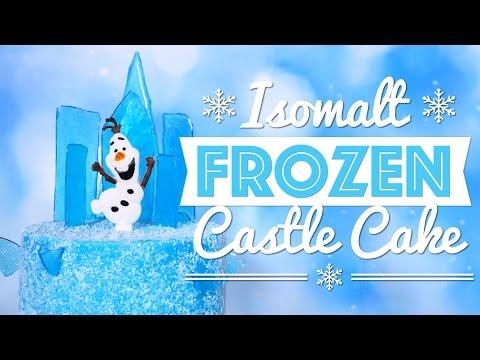 Isomalt Frozen Castle Cake