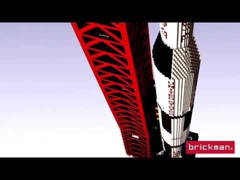 Throwback Thursday: LEGO® Brick Saturn V Rocket