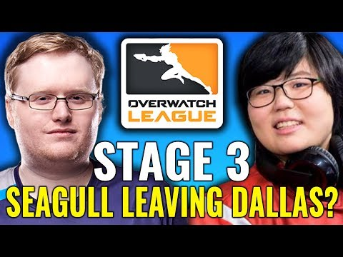 Stage 3 Preview: Is Seagull Leaving Dallas, Geguri's Debut & More [Overwatch League News]