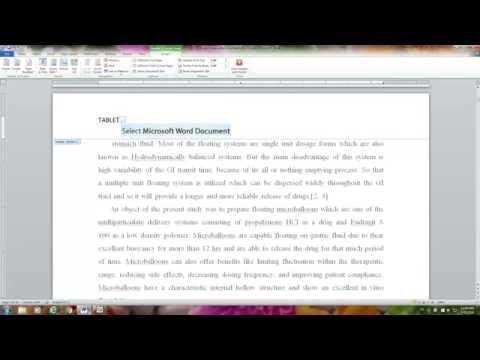 THESIS - DISSERTATION GUIDE: Different header on different page: WORD 2010