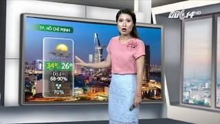 (VTC14)_Thời tiết các thành phố lớn ngày 04.06.2017