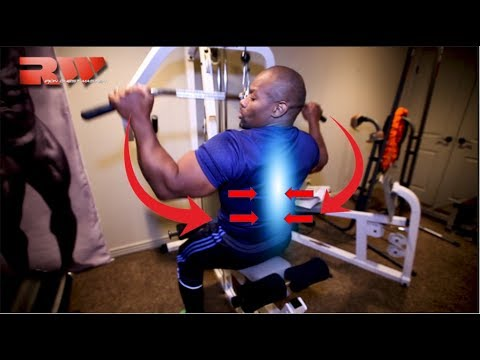 How to Build Thicker Lats (Back Muscles) with Lat Pull Down Exercise