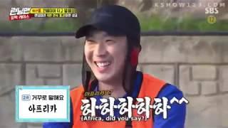 Kwang Soo and Eun Ji versus Jong Kook and Na Eun! [Running