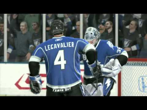 NHL 11 Eastern Conference Playoff Sim- Boston vs. Tampa Bay