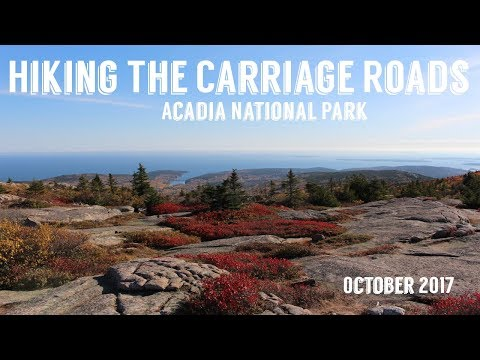 Hiking The Carriage Roads | Acadia National Park | Wandering Around In Wonder
