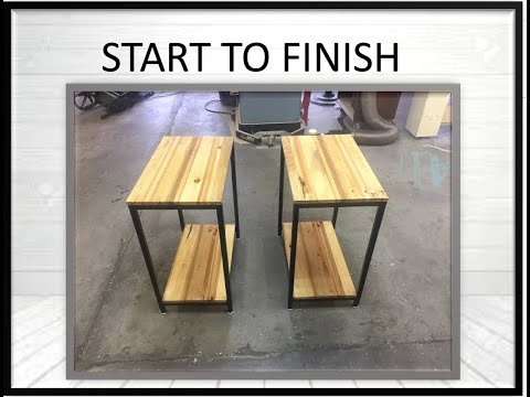 DIY Furniture: How To Build a Modern End Table