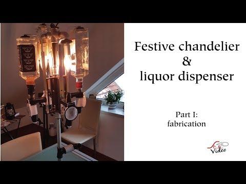 Festive chandelier & liquor dispenser, part 1/2