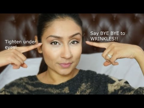 Get rid of Under eye wrinkles facial exercise || Raji Osahn