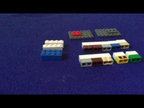 How To Make A Lego Rubber Band Gun