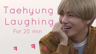 Taehyung laughing, giggling, smiling for 20 minutes - Part 1