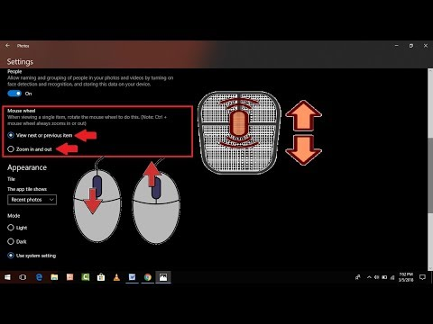 How to Customize Mouse Wheel Function in Photos App on Windows 10