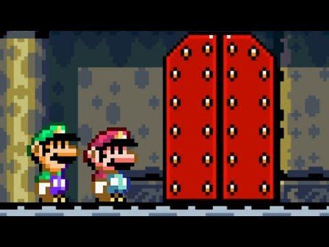 Super Mario World Co-Op Walkthrough - Part 4 - Twin Bridges