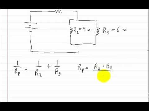 Series Parallel Circuits - How to solve for total resistance